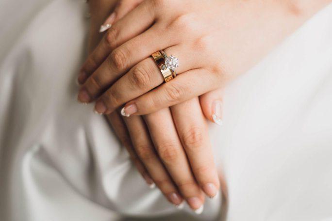 Manicure e nail art sposa